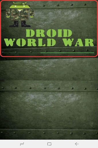 Droid World War