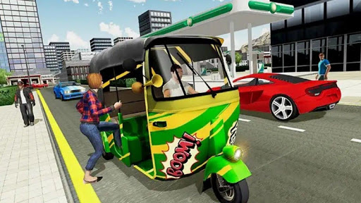 Indian Modern Rikshaw Drive  screenshots 15