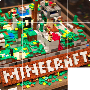 Slide Puzzle Lego Minecraft for PC and MAC