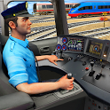 Indian Train City Driving Sim- Train Games 2018 icon