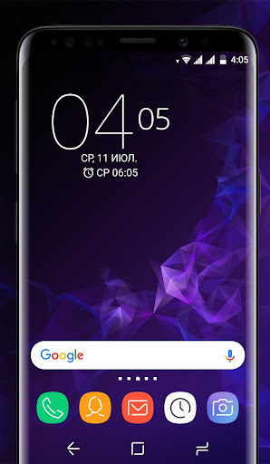 Galaxy S9 purple | Xperia™ Theme Premium 이미지[1]