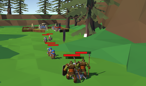Low Poly Medieval Kingdom APK MOD (Astuce) screenshots 3