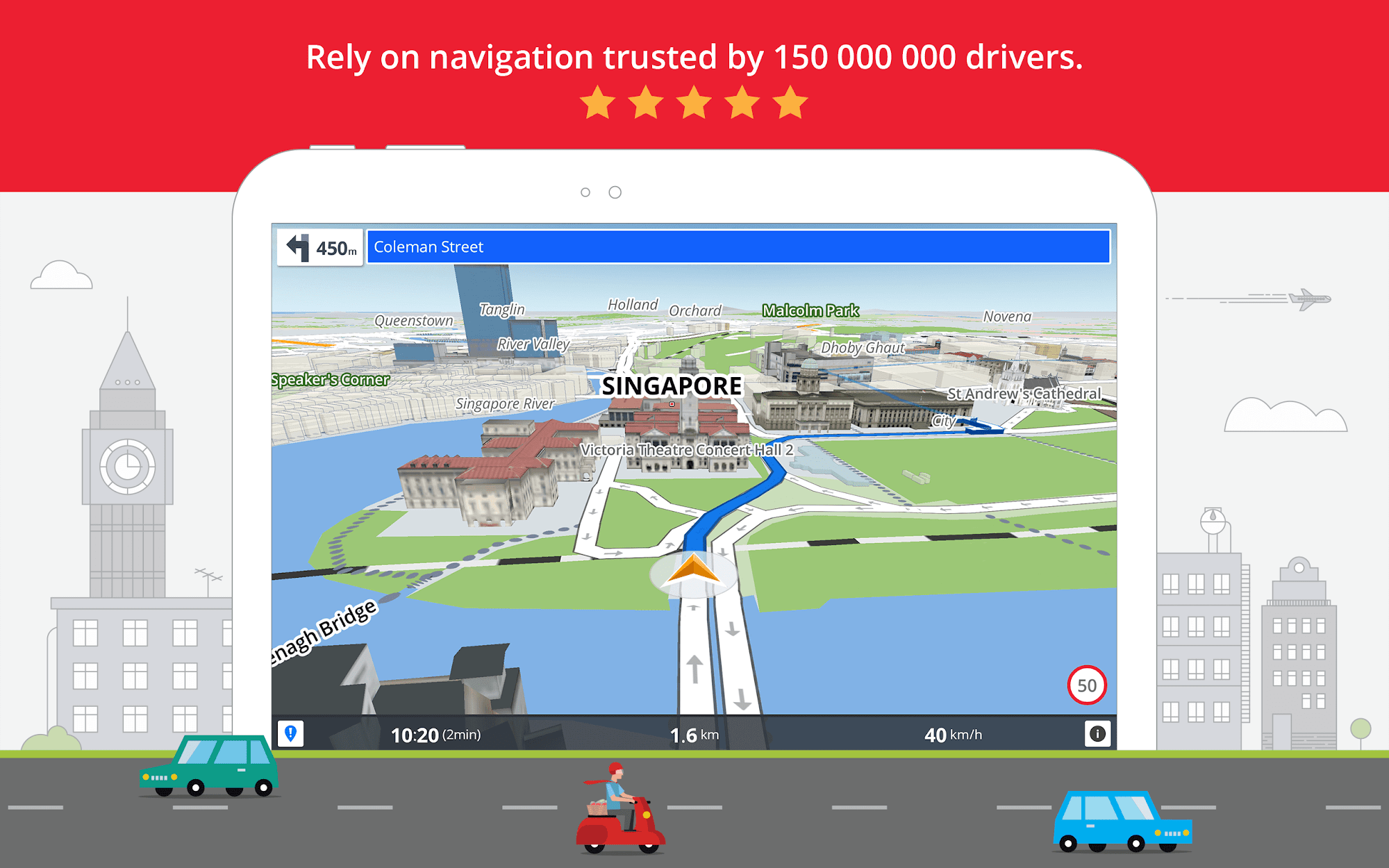 GPS Navigation & Maps Sygic screenshot #9