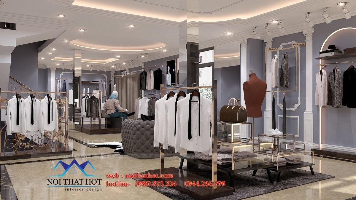 thiết kế shop thời trang sang trọng 10