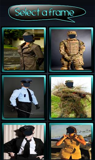 玩免費攝影APP 下載警察和军队的照片蒙太奇 app不用錢 硬是要APP
