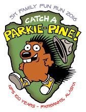 """Photo: National Park Service: """"Catch a Parkie-Pine!"""""""