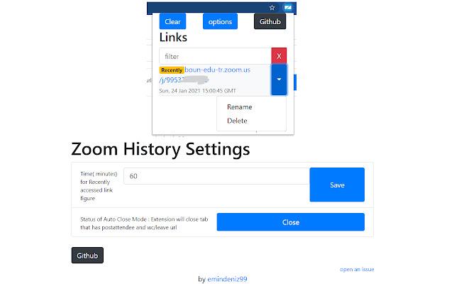 Zoom History