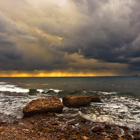 before the storm by Zajac David - Landscapes Waterscapes ( clouds, colors, wheater, storm, landscape )