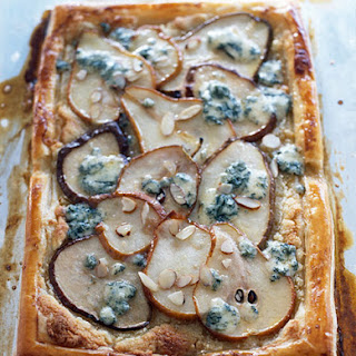 Pear Tart With Blue Cheese and Honey