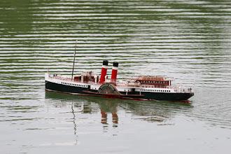 Photo: 外輪船MOMOKO 横型スチームエンジンY2DRを搭載