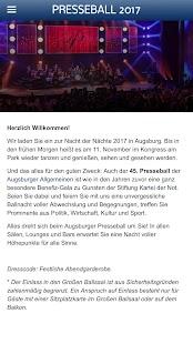 Presseball Augsburg 2017 - náhled