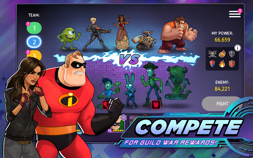 Disney Heroes: Battle Mode apktram screenshots 20