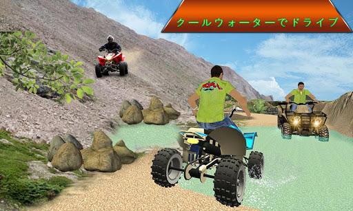 オフロード クワッド バイク マニア 3D