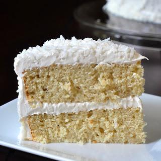 Coconut Velvet Cake.