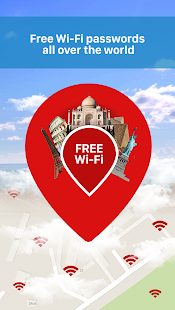 Free WiFi Passwords on the Map- screenshot thumbnail