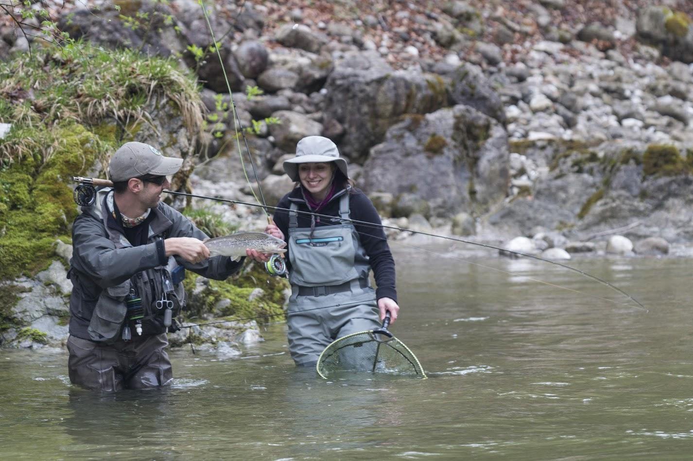 За трети път риболов в Австрия - река Ретенбах