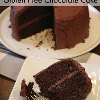 Gluten Free Chocolate Mayonnaise Cake.