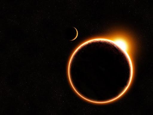 Eclipse Solar Live Wallpaper