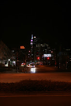 Photo: Looking up 34th Street from near the Hudson River.