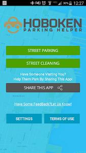 Hoboken Parking Helper (Free) screenshot 0