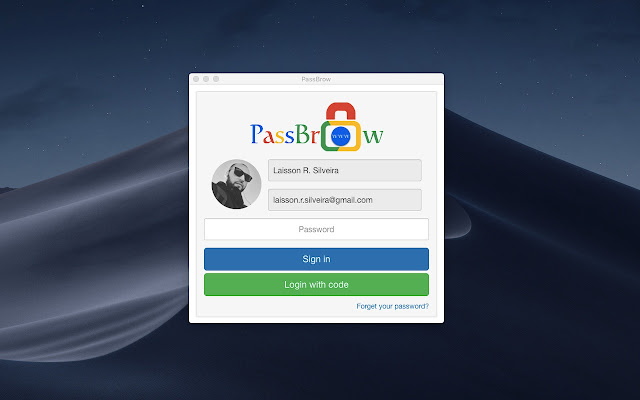 PassBrow: Chrome™ Password/Site Block