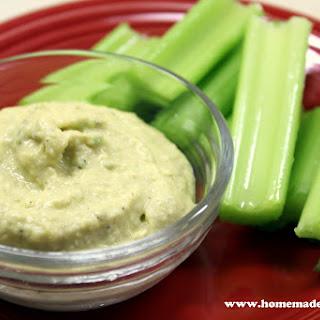 Caper and Jalapeno Hummus