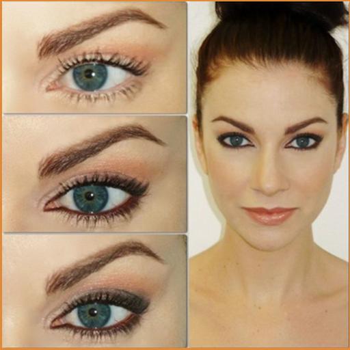 Eye Makeup-Step By step