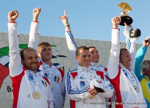 """Photo: L'équipe de France de Rotation (Voile Contact) remporte l'épreuve """"proprement"""", 4ème DIPC 2013"""