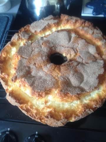 My Easy Peachy Angel Cake