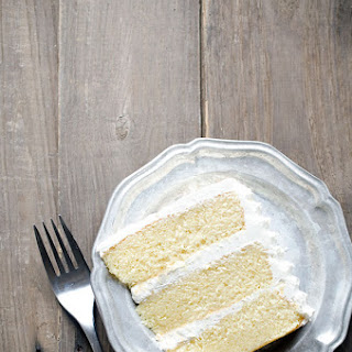 Brown Butter Layer Cake with Salted Bourbon Buttercream
