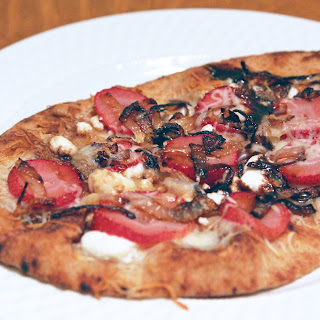 Strawberry, Caramelized Onion + Balsamic Pizza