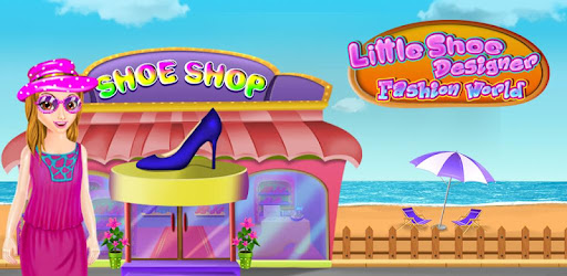 Design your own shoes for girls and be a model fashion designer.