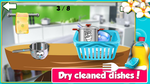 玩免費休閒APP|下載Princess Dish Washing-Cleanup app不用錢|硬是要APP