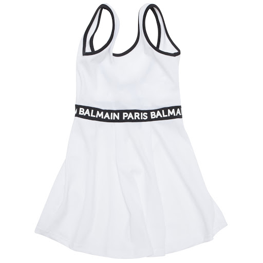Primary image of Balmain Sleeveless Logo Dress