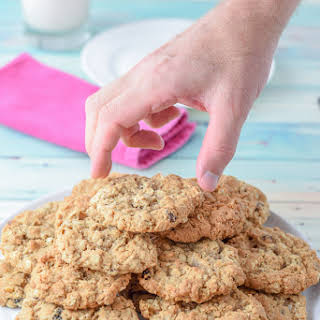 Addy's Awesome Oatmeal Raisin Cookies.
