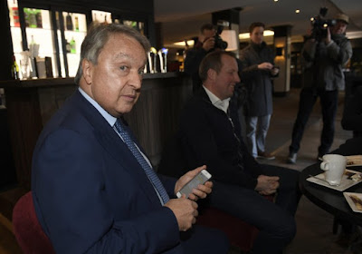 """Devroe à Anderlecht ? Van Holsbeeck réagit: """"J'attends avec impatience les discussions avec le nouveau président"""""""