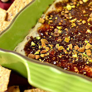 Warm Fig and Prosciutto Goat Cheese Dip Recipe