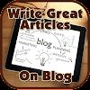 كتابة مقالات كبيرة على بلوق APK