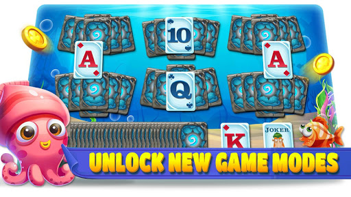 Solitaire lovely Fish: Tripeaks 1.0.38 screenshots 3