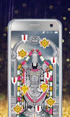 Lord Balaji Live Wallpaper - screenshot