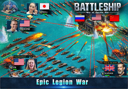 Battleship: Legion War of Pacific Rim 1.6.5 screenshots 3