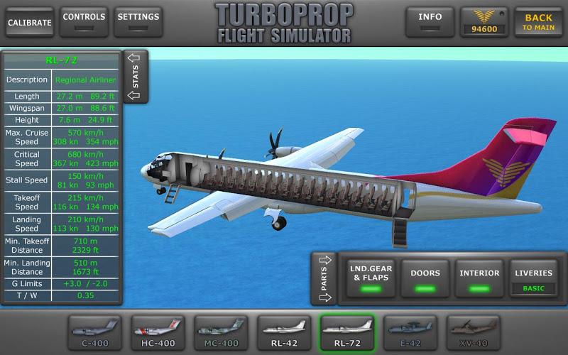 Turboprop Flight Simulator 3D Screenshot 8