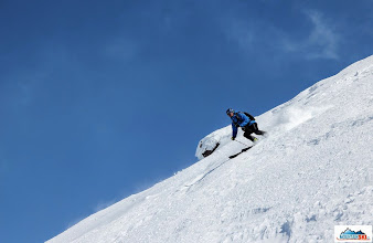 Photo: Skier: Pazout, location: slopes of Avachinsky