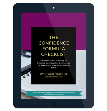 The Confidence Formula Checklist by Stacie Walker
