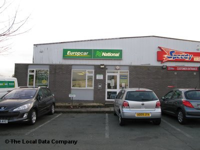 Europcar On Stafford Park Car Van Hire In Telford Tf3 3ba