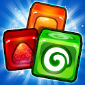 Match 3 Candy Cubes Puzzle Blast Games Free New icon