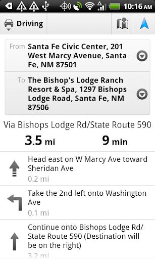 Polaris Navigation GPS screenshot 15