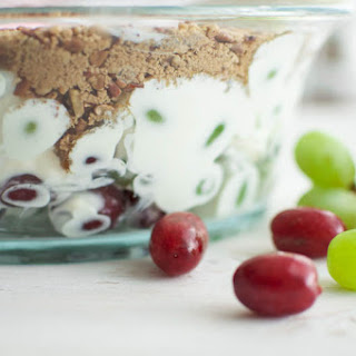 Creamy Grape Salad with Brown Sugar and Pecans Recipe