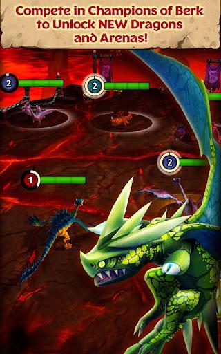 Dragons: Rise of Berk screenshot 2