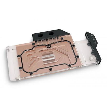 EK vannblokk for skjermkort, EK-Quantum Vector RTX 3080/3090 - Copper + Plexi